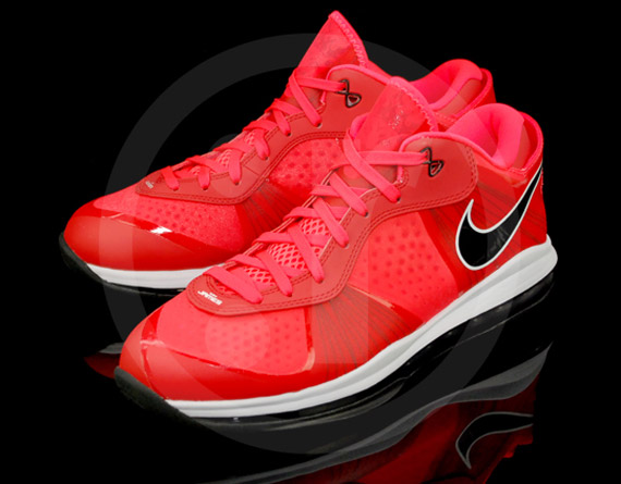 lebron 8 low red - photo #30