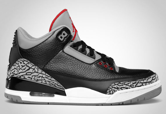 100% authentic d73b0 7bbd3 Jordan Black Cement 3 – Official Images | The Fresh Heir