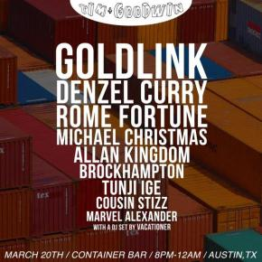 SXSW Show Preview: Tim + Goodwin present Goldlink, Allan Kingdom, Michael Christmas & More